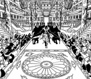 Kouen llega al palacio