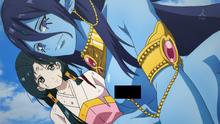 Hakuei and Paimon anime