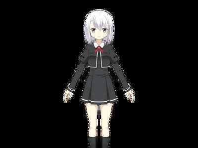 Izumi Kanagi Pre-Transformation