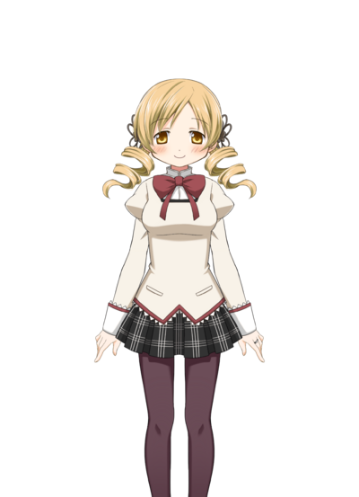 Tomoe Mami Pre-Transformation