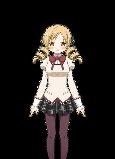 Tomoe Mami Pre-Transformation