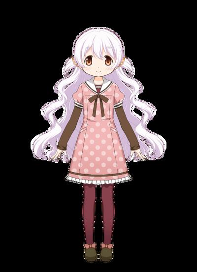 Momoe Nagisa Pre-Transformation