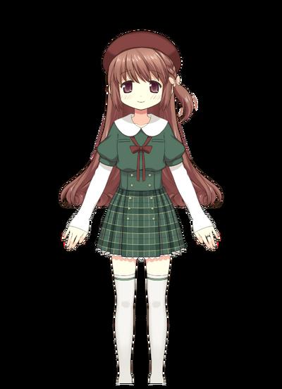 Satomi Touka Pre-Transformation