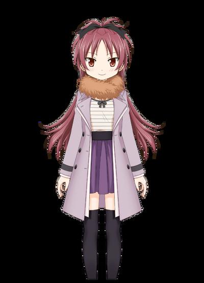 Sakura Kyouko Winter Clothes
