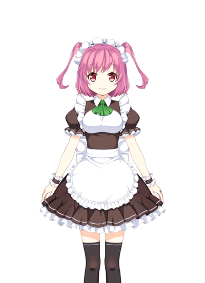Makino Ikumi Maid Uniform