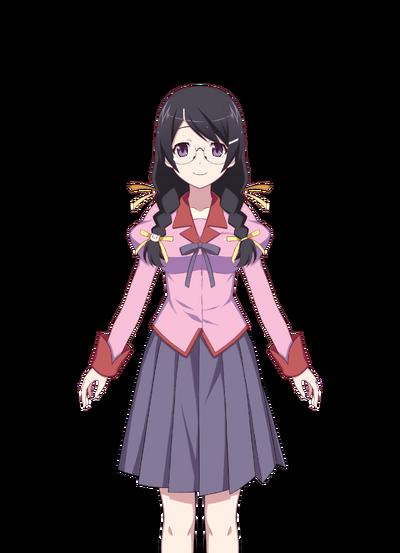 Hanekawa Tsubasa Pre-Transformation