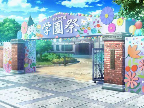 Trick☆Trouble☆School Festival Background