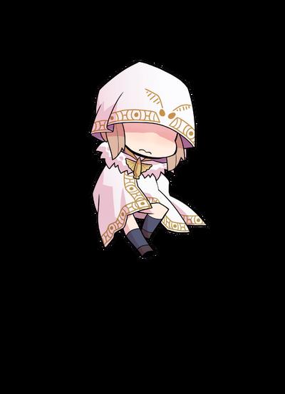 Midori Ryou PAPA White Feather