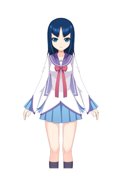 Misaki Umika Pre-Transformation