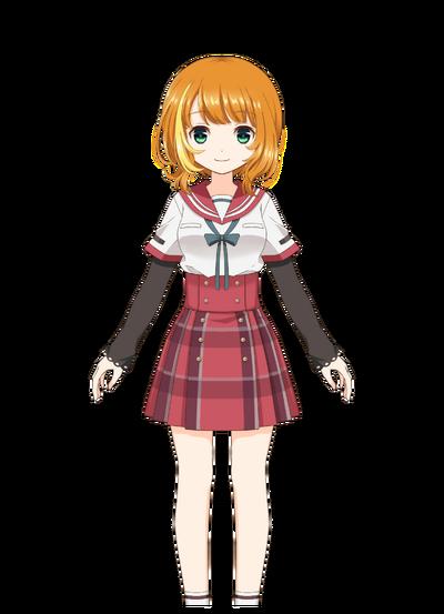 Haruna Konomi Pre-Transformation
