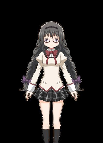 Akemi Homura (Megane ver.) Pre-Transformation