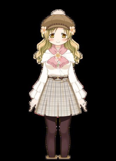 Tomoe Mami Winter Clothes