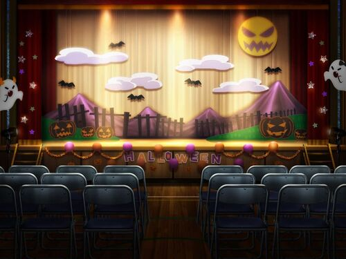 Magical Halloween Theater ~A Magical Girl Troupe for a Day~ Background