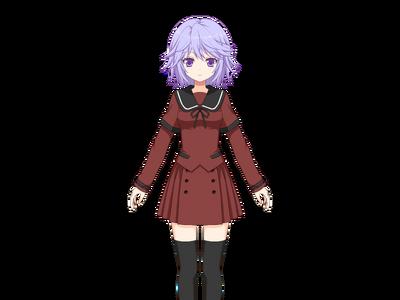 Hozumi Shizuku Pre-Transformation