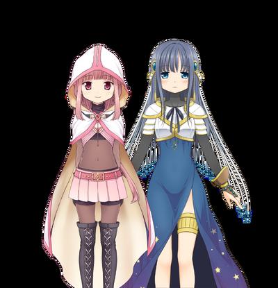 Iroha & Yachiyo (Final Battle ver.) Iroha & Yachiyo (Final Battle ver.)