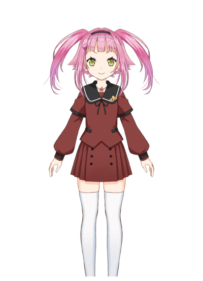 Mikuri Ayame Pre-Transformation