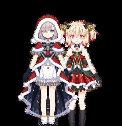Rika & Ren (Christmas ver.) Rika & Ren (Christmas ver.)