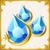 Aqua Gem Set
