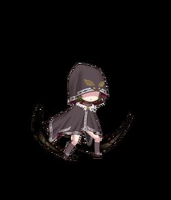 Black Feather Minion Forest Blades
