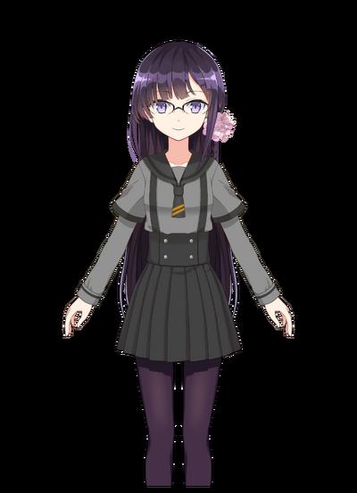 Komachi Mikura Pre-Transformation