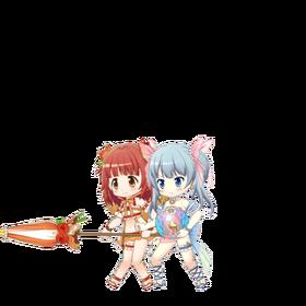 Rena & Kaede (Mizugi ver.) Sprite