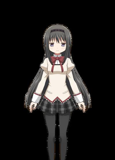 Akemi Homura Pre-Transformation