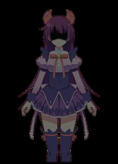 Senjougahara Hitagi Shadow