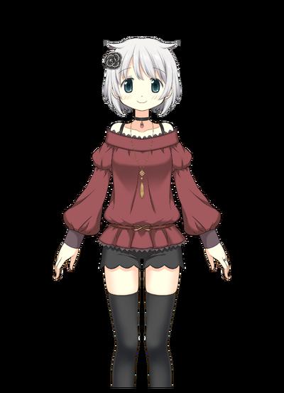 Azusa Mifuyu Pre-Transformation
