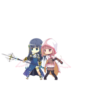 Iroha & Yachiyo (Final Battle ver.) Sprite