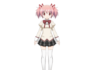 Kaname Madoka Pre-Transformation