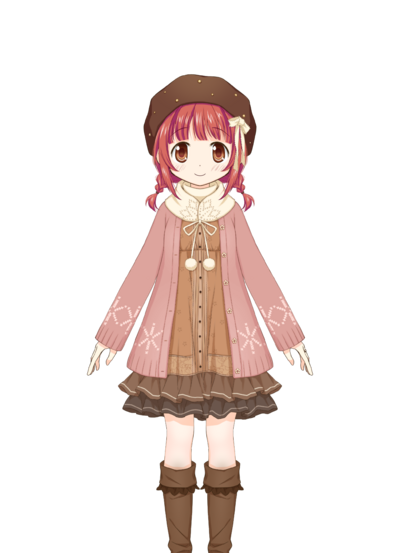 Akino Kaede Winter Clothes