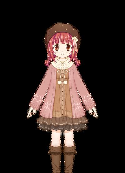 Akino Kaede Winter Clothes