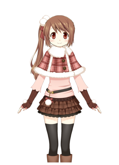 Yui Tsuruno Winter Clothes