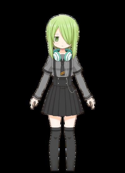 Miyabi Shigure Pre-Transformation