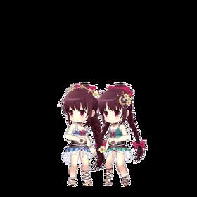 Amane Sisters (Mizugi ver.) Sprite