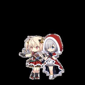 Rika & Ren (Christmas ver.) Sprite