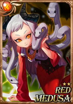 Red Medusa full card