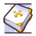 File:White Bible icon.png