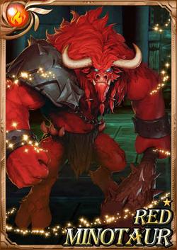 Red Minotaur full card