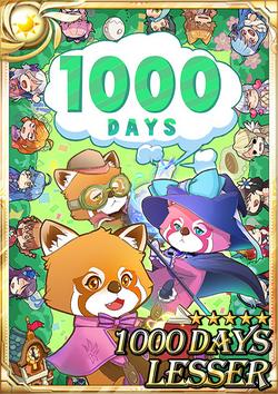 1000 Days Lesser F3