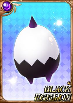 Black Eggmon full card