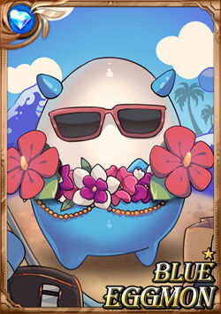 Blue Eggmon F1