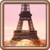 Map Eiffel Tower icon