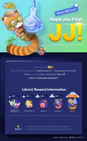 Global Like Event JJ