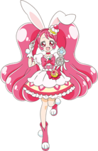 Cure Whip with her Sweet Pact