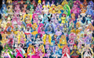 80 Pretty Cure Warriors with Fairies (updated)