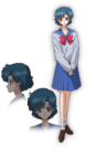 Sailor Moon Crystal Ami pose