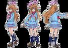 Suite Pretty Cure Hibiki pose