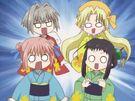 Binzume Yousei Kururu, Chiriri, Sarara and Hororo26