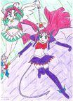 Angel demon haruna
